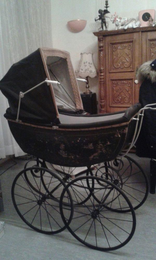 kinderwagen antik gebraucht kaufen nur 4 st bis 70. Black Bedroom Furniture Sets. Home Design Ideas