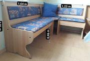 Eckbank / Stuhl / Tisch