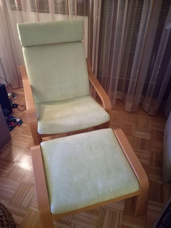 Ikea Poang Sessel Mit Hocker In Karlsruhe Ikea Mobel Kaufen Und