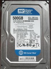 Western Digital WD5000AAKS Blue 500GB