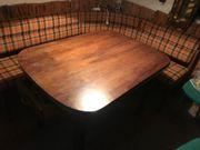 Retro Eckbank mit Tisch