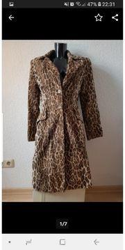 Nicowa Kunstfell Mantel Leopard Gr