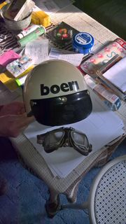 1 Boeri Motorradhelm