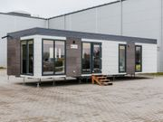 Mobilheim Office Winterfest Buro Dauer