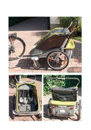 Fahrradanhänger - Kindertransport - Orig Chariot Cougar