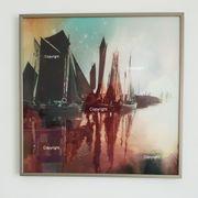 Zeestboote im Nebel Bild Fotografie