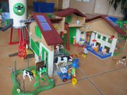 Playmobil Bauernhof Silo Traktor Haus