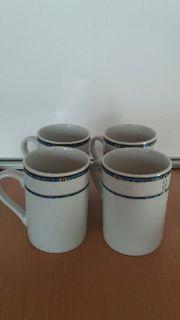 4 Kaffeebecher TOP Preis