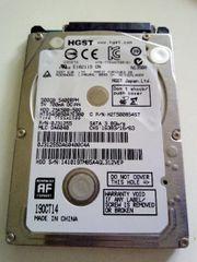 500 GB festplatte wenig genutzt