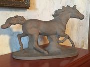 Majolika Galoppierendes Pferd