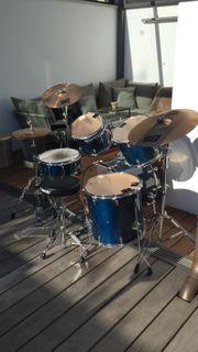 Schlagzeug BasiX Remo blau