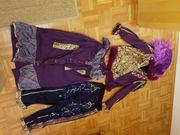 Faschings Karneval-Kostüm mit zusätzlicher Hose