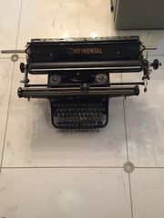 Schreibmaschine Continental Breitwagen DIN A