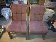 2 Stühle einer ehemaligen Essecke