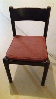 6 Holzstühle mit