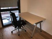 HAWORTH - höhenverstellbarer Schreibtisch Bürotisch Haworth