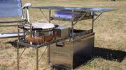 Campingküche Kochbox von