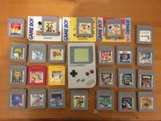 Nintendo Gameboy 24 Spiele Pokemon