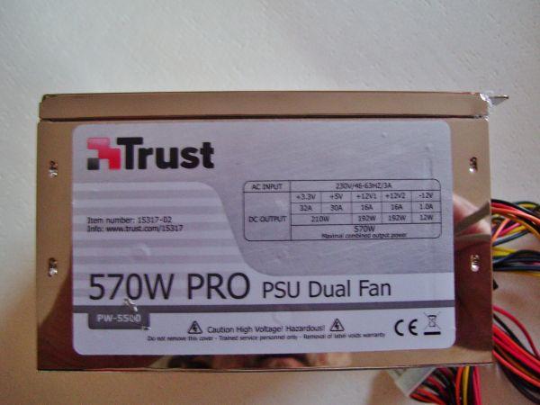 PC - Netzteil von Trust 570