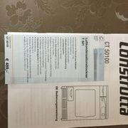 Wäsche-Luftkondensationstrockner Constructa CT 50100