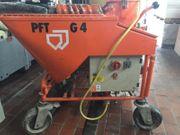 PFT G 4 Verputzmaschine mit