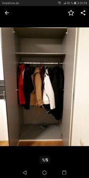 Kleiderschrank muß bis zum 30