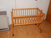 Babybett Kinderbett mit Betthimmelhalterung-Versand möglich