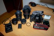 Canon 80D DSLR Digitale Spiegelreflexkamera