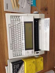Schreibmaschine Brother LW-1 Textsystem