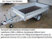 Humbaur HU752314 Hochlader 750kg ungebremst
