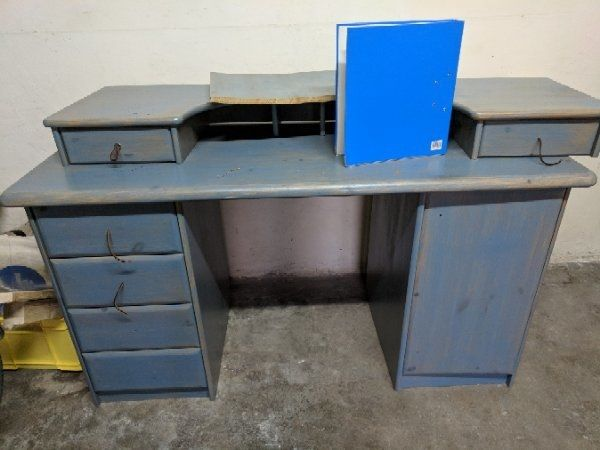 Lasierter tonkrug kaufen lasierter tonkrug gebraucht for Schreibtisch aus echtholz
