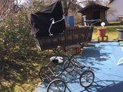 Kinderwagen Korb Rattan