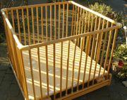 Holzlaufstall AMAL II höhenverstellbar und