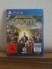 Playstation4 PS4Spiel FarCry 5 Gold