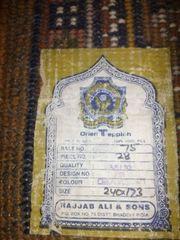 Indien Teppich und