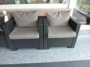 Garten Sessel 2er-Set