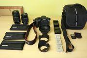 Canon EOS 700D mit vielem