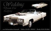 Oldtimer Cabrio zur Hochzeit mieten