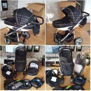 Kinderwagen 3in1 Base für Babyschale