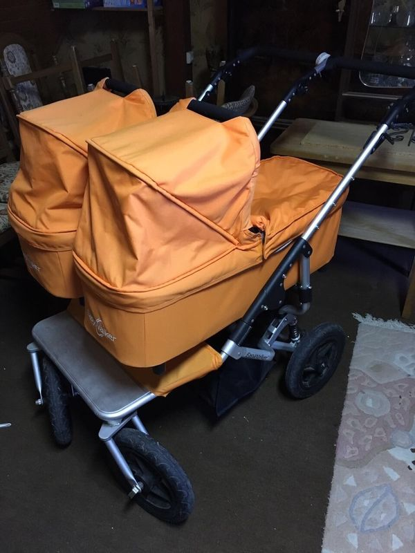 Easy Walker Duo Zwillings-Geschwisterwagen