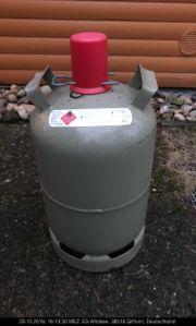 11 kg leere Gasflasche Eigentumflaschen