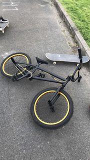 BMX Bike Gold/