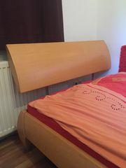 Bett Gästebett massiv Buche von
