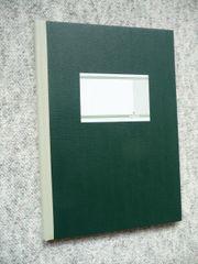 Geschäftsbuch - kariert mit Register - DIN