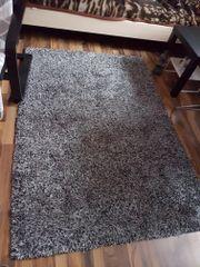 Teppich grau/schwarz