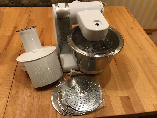 Bosch MUM 48 W Exclusiv Küchenmaschine 600 Watt in Oberderdingen ...