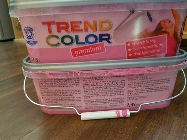 2x Wandfarbe Pink » Farben, Lacke, Tapeten