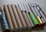 Über 30 Pappröhren