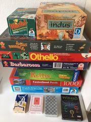 verschiedene Brettspiele - Gesellschaftsspiele -
