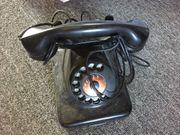 Telefon W48 funktional schwarz
